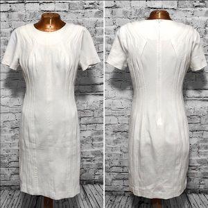 Diane Von Furstenberg Kader Clean Sheath Dress EUC
